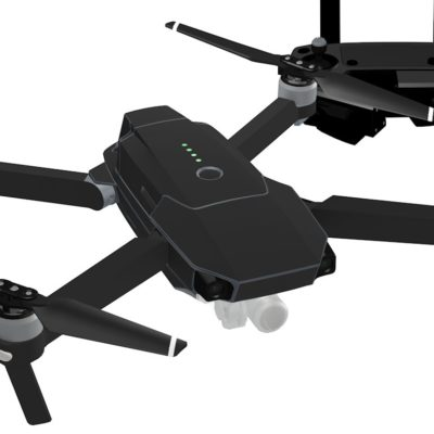 Black skin for DJI Mavic Pro