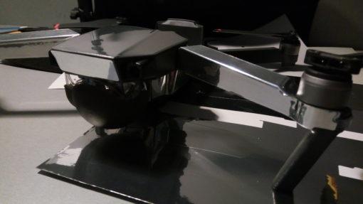 Skin Gloss Sterling Silver for DJI Mavic Pro