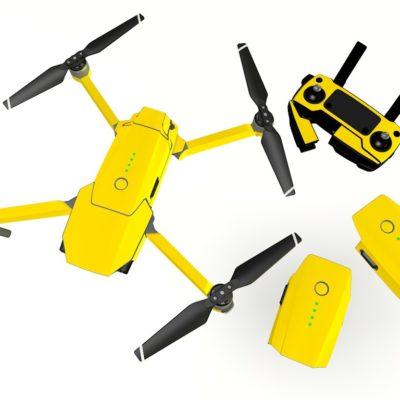 Yellow skin for DJI Mavic Pro