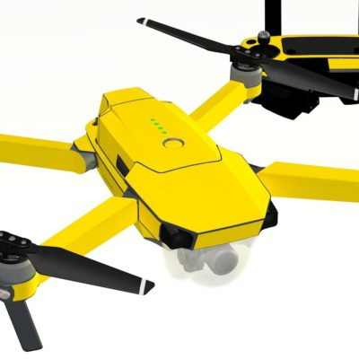 Yellow skin for DJI Mavic Pro