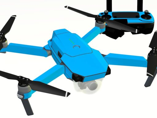 Light Blue skin for DJI Mavic Pro