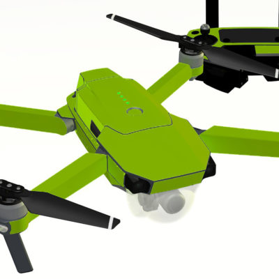 Lime skin for DJI Mavic Pro