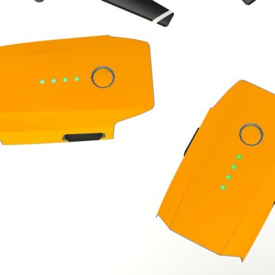 Orange skin for DJI Mavic Pro