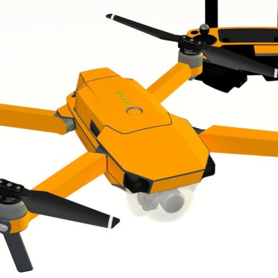 Orange skin for DJI Mavic Pro