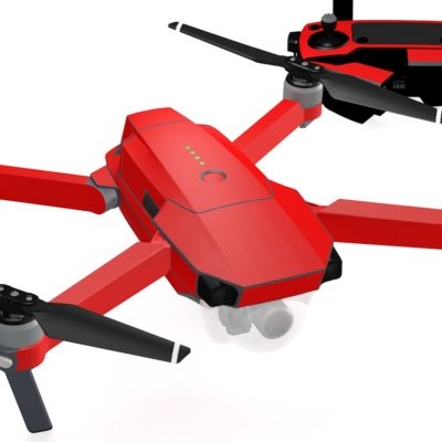 Red skin for DJI Mavic Pro