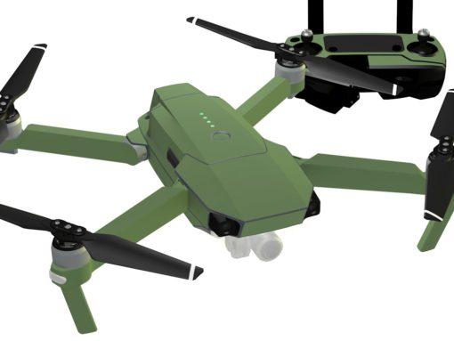 Green Army skin for DJI Mavic Pro