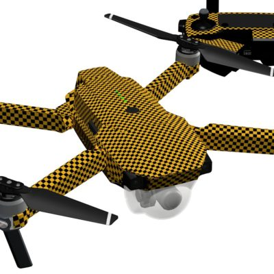 Yellow checker Skin for DJI Mavic Pro